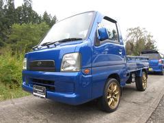 サンバートラック4WD オートマ エアコン パワステ HDDナビ WRブルー