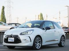 シトロエン DS3シック キセノンフルLEDPKG 新車保証 17インチアルミ