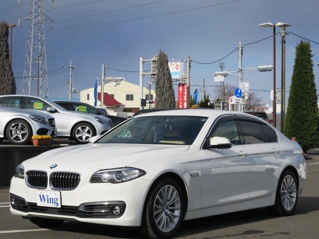 BMW 5シリーズ 523iラグジュアリー 1オーナー ACC ベ...