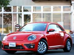 VW ザ・ビートルデザイン 1オーナー 禁煙 新車保証 黒革 純ナビ Bカメラ