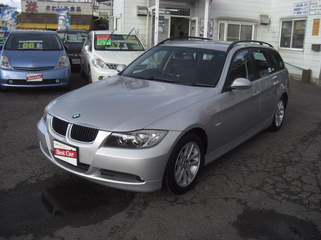 BMW 3シリーズ 320iツーリング Pシ−ト HDDナビ (検...
