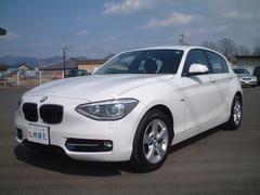 BMW116スポーツ ワンオーナー パーキングサポート ナビTV付