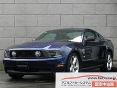 フォード マスタング V8 GTアピアランスPKG 1オナ 黒レザー HDDナビ(フォード)