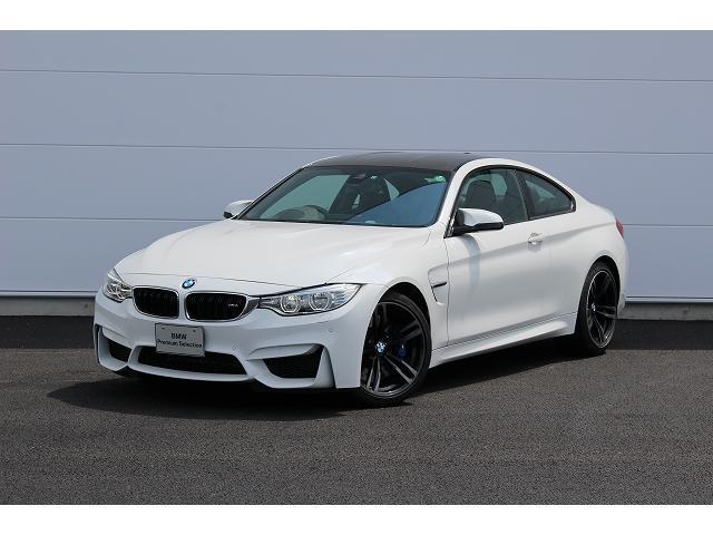 BMW M4クーペ 認定中古車 純正ナビ ハーマンカードン