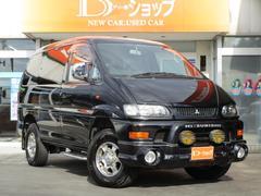 デリカスペースギアシャモニー 4WD ハイルーフ 7人 オートステップ ETC