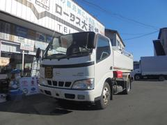 デュトロ4WD 配達仕様タンク車 3.5kl 書類有り 福知製 灯油