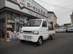 キャリイトラック4WD 軽タンクローリー タンク書類付 KU 5速マニュアル
