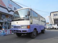 シビリアンバス4WD 29人乗り Rクーラー Rヒーター 自動ドア