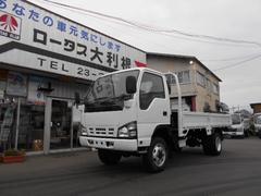 エルフトラック4WD 3t 平ボディ5速MT