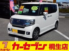 N BOXカスタムG 社外ナビTV ETC