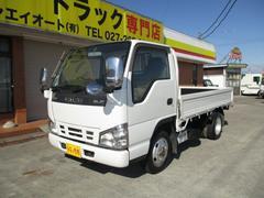 エルフトラック2t フルフラットロー 4WD