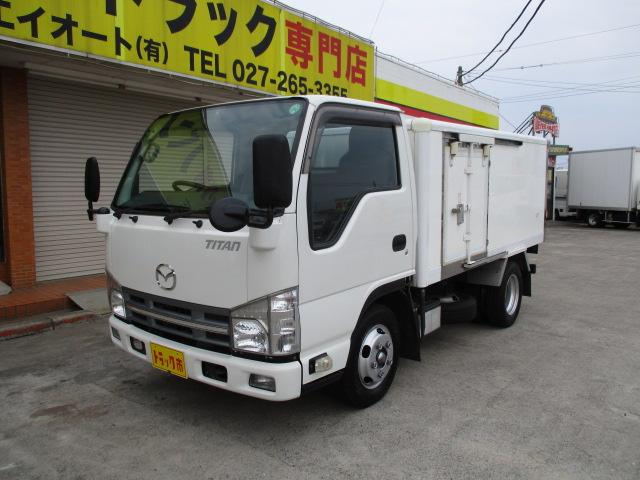 マツダ タイタントラック 1.5t 冷蔵冷凍 フルフラットロー オ...