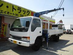 エルフトラック3.25t 4段クレーン ラジコン付