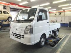 NT100クリッパートラック 移動販売車 製作中 エアバック(日産)