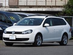 VW ゴルフヴァリアントTSI トレンドラインターボ 地デジMナビ 16アルミ