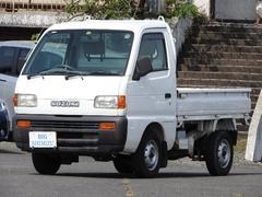 キャリイトラック4WD デフロック 油圧ダンプ AC付 WポンプTベル交換済