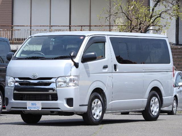 トヨタ ロングDX GLパッケージ 9人乗 地デジMナビBカメラ