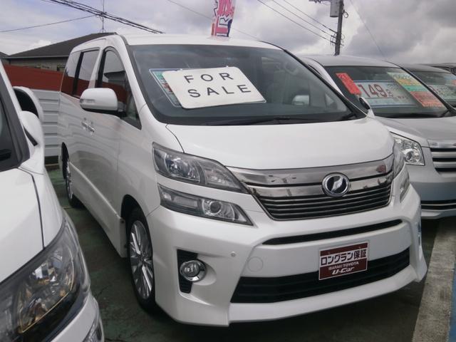 トヨタ 2.4Z 純正アルミ メモリーナビ 地デジTV 後席モニター