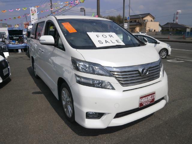 トヨタ 3.5Z プラチナムセレクション 純正アルミ ナビ
