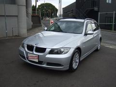 BMW320iツーリング 社外HDDナビ HIDライト