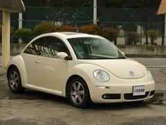 VW ニュービートルLZ 本革シート HDDナビ サンルーフ GOO鑑定車