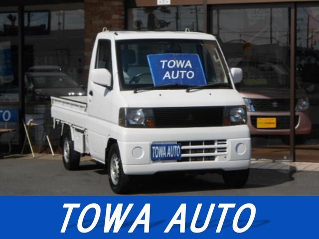 三菱 ミニキャブトラック 4WD パワステ 5速マニュアル (なし)