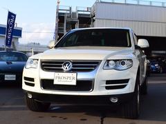VW トゥアレグV6 右ハンドル HDDナビ ワンオーナー ディーラー車