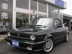 VW ゴルフカブリオレ93y クラシックライン 電動オープン ETC BBS