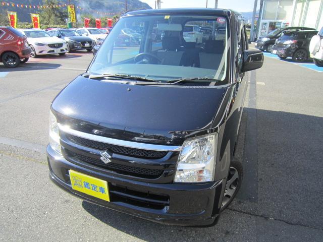 ワゴンRが入庫!しかも雪道でも安心の4WDです!北海道の一部と東日本から兵庫県の県外登録費は+\10,800でOK!