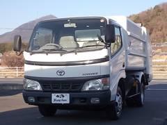 トヨエースフルジャストロー塵芥車 連続作動車4.9立米 モリタ製回転式