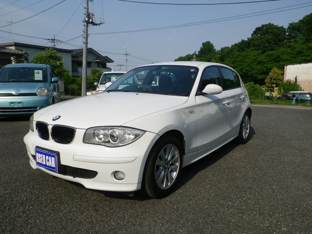 BMW 1シリーズ 116i 社外ポータブルナビ・ETC (なし)
