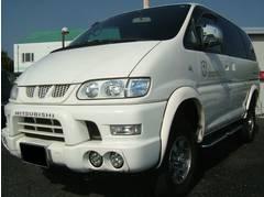 4×4 LIMITED STAR・三菱 デリカスペースギア シャモニー リフトUP タイベル交換済 4WDの画像