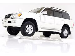 ランドクルーザー100シグナス 4WD サンルーフ ハイトコントロール 電動シート