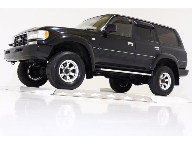 トヨタ VXリミテッド 4WD リフトUP 黒レザー調シートカバー