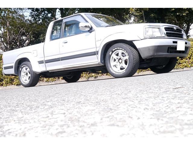 マツダ キャブプラス 4WD ウッドステアリング リアメッキバンパー