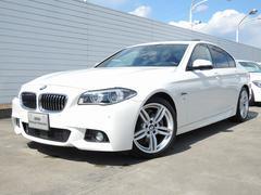 BMW528i Mスポーツ サンルーフ レザー ACC 19インチ