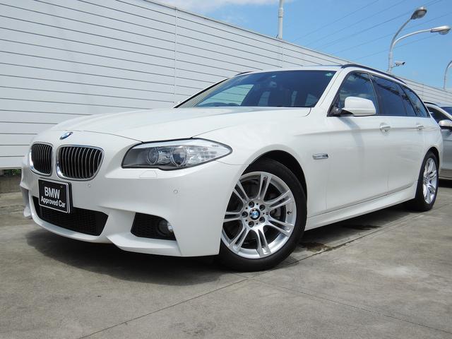BMW 528iツーリング Mスポーツ サンルーフ ブラックレザー