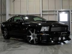 フォード マスタング GT 5速MT フルエアロ エレノア カーボン調インテリア(フォード)