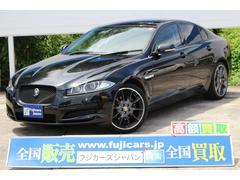 ジャガー XFブラックパックリミテッド 100台限定車 ワンオーナー 本革