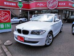 BMW120i 社外ナビ・純正アルミ