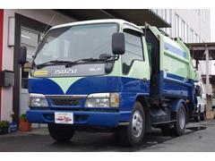エルフトラック塵芥車 パッカー車 プレス式 4.2立米 2t積