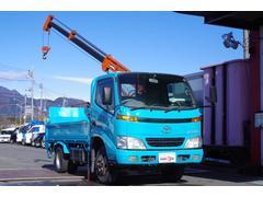 ダイナトラック簡易クレーン 極東開発パワーゲート 1t吊3段 オートマ