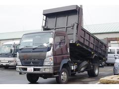 キャンター高床ロングダンプ 4WD NOx・PM適合