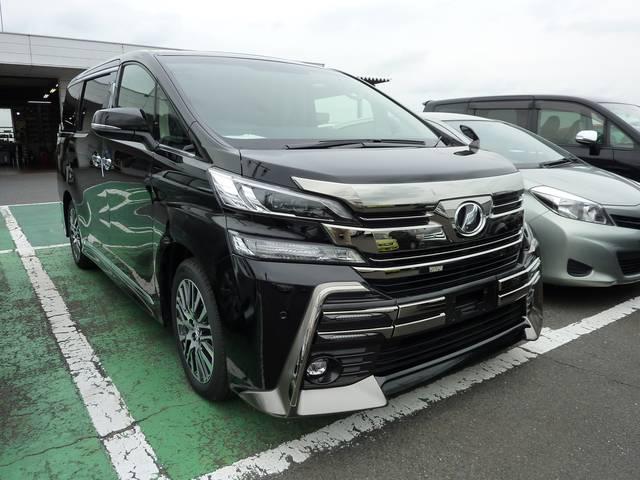 トヨタ 3.5ZA Gエディション LEDフロントガーニッシュ