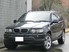 BMW X53.0i 4WD 黒革シート 純正19インチAW ETC