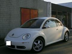 VW ニュービートルクレム ワンオーナー 社外オーディオ ETC