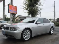 BMW745i 19インチアルミ ブラックレザー サンルーフ