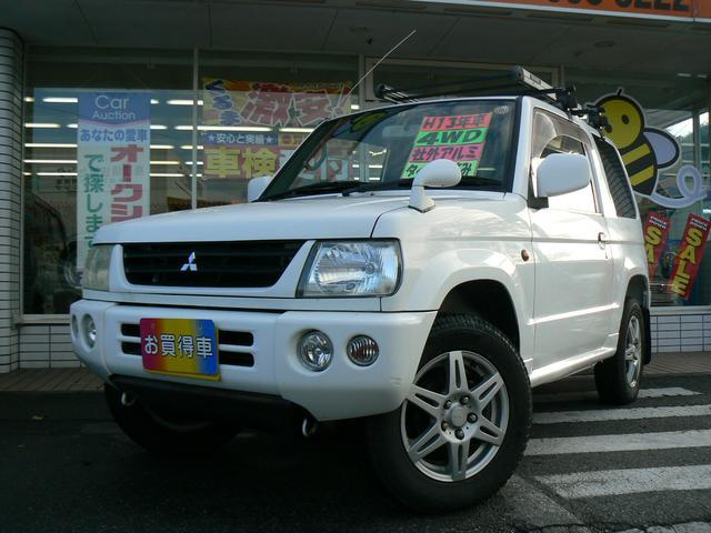 三菱 パジェロミニ X4WD 社外アルミ CD タイミングベルト交...