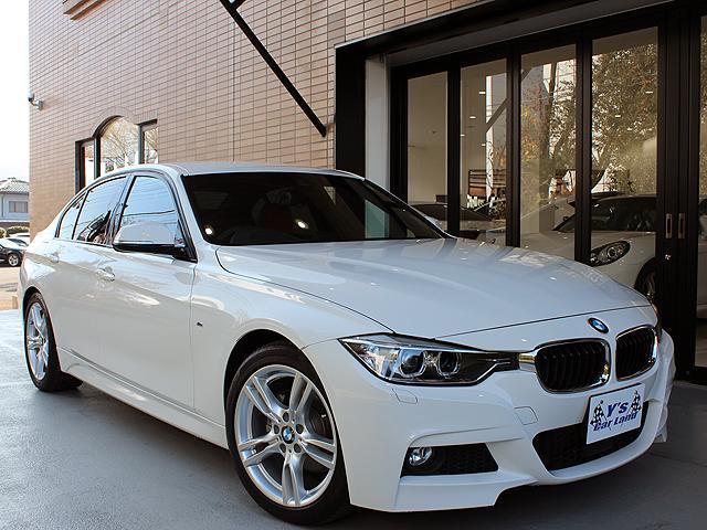 BMW 3シリーズ 320dMスポーツ ディ−ラ−車 赤ダコタレザ...