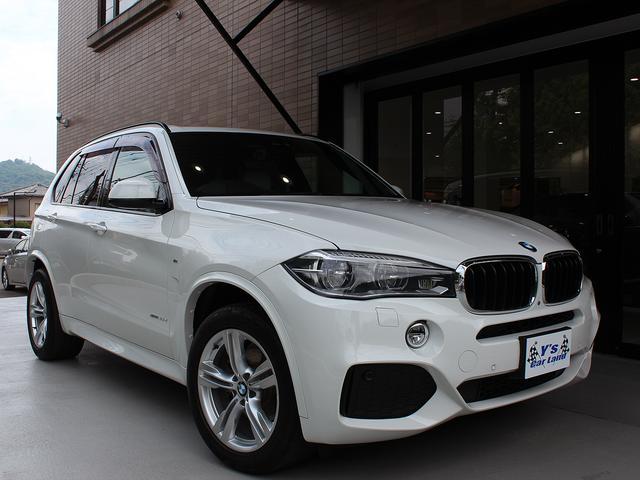 BMW X5 xDrive35dMスポーツ 1オ−ナ− SR アダ...